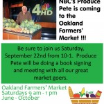 flyer-oakland farmers' market 2