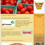 newsletter-oakland farmers' market