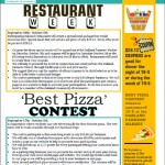 flyer- restaurant week