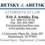 biz card-aretsky & aretsky
